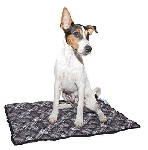 Kühldecke für Hunde von Aqua Coolkeeper Scottish Grey