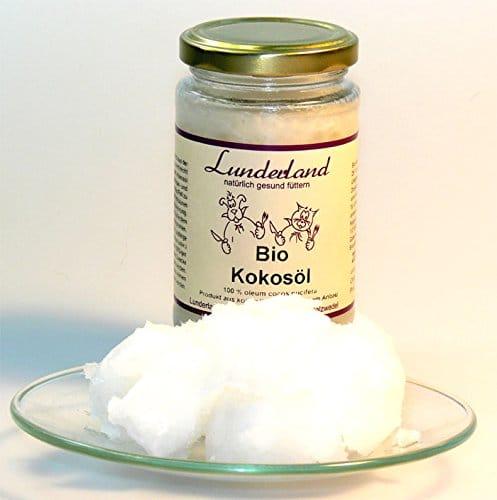 Lunderland Kokosöl für Hunde als Wurmkurz