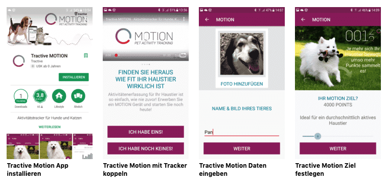 Tractive Motion App