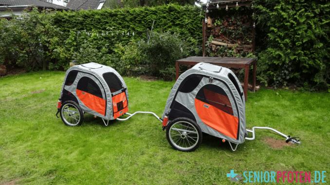 Comfort Wagon Hundebuggy und Hundefahrradanhänger