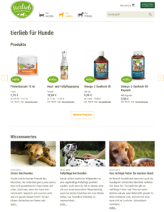 tierlieb sanct bernhard hunde shop