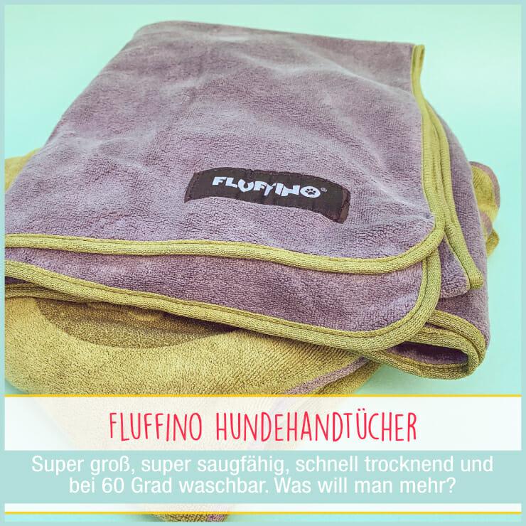 Fluffino Handtuch für Hunde