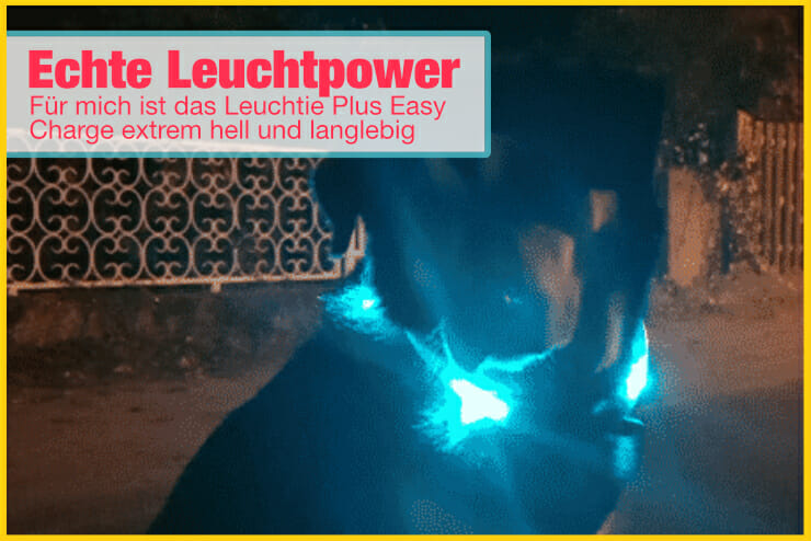 Leuchtie Plus Easy Charge Leuchtkraft