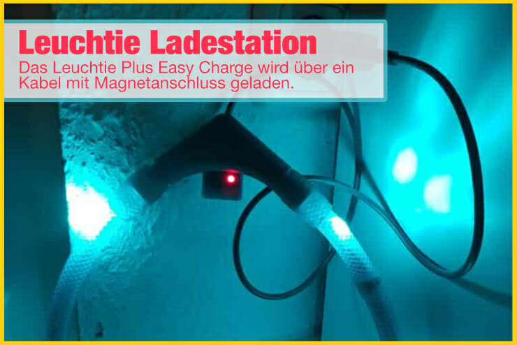 Leuchtie Plus Easy Charge laden