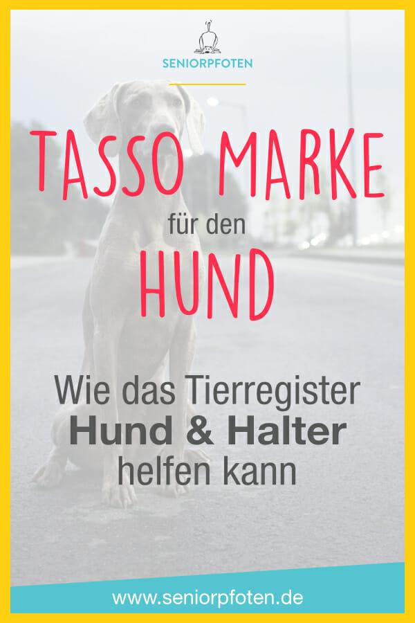 TASSO Marke für Hunde