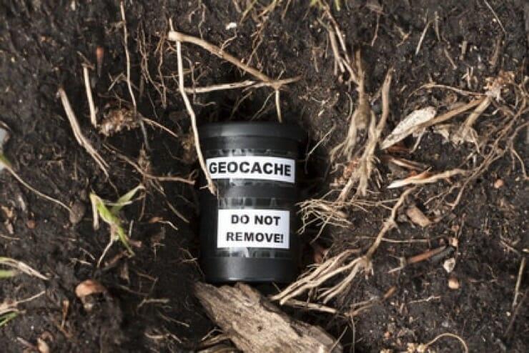 Geocache vom Hund finden lassen