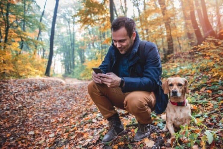 Geocaching für Hund - Ausstattung
