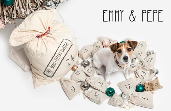 Hunde Adventskalender Emmy und Pepe