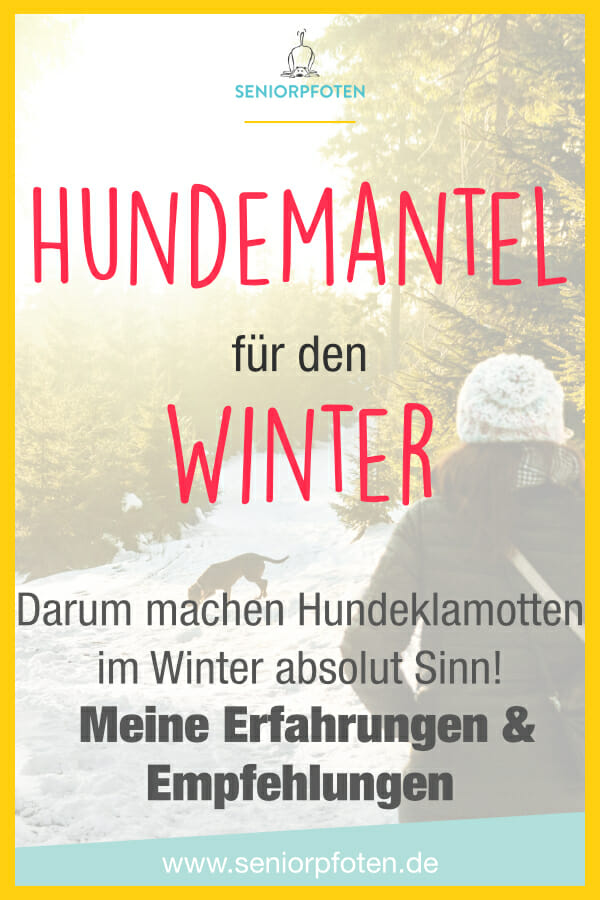 Hundemantel für den Winter